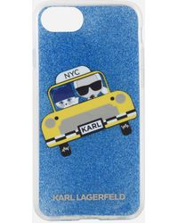 Karl Lagerfeld - Women's Nyc Taxi Phone Case - Lyst