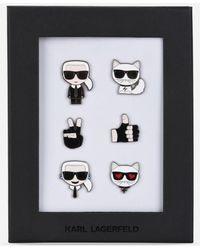Karl Lagerfeld K/ikonik Pins - Multicolour