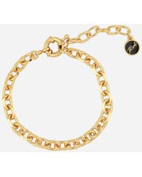 Karl Lagerfeld - Gold Faceted Chain - Lyst