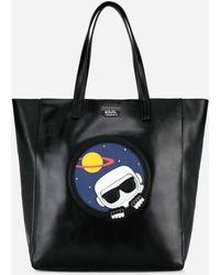 Karl Lagerfeld - Karl Space Soft Shopper - Lyst