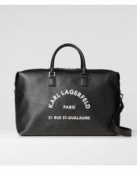 Karl Lagerfeld - Rue St-guillaume Weekender - Lyst