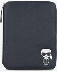 Karl Lagerfeld - K/ikonik Ipad Organizer - Lyst