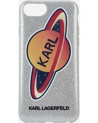 Karl Lagerfeld - Karl Planet Iphone 8 Case - Lyst