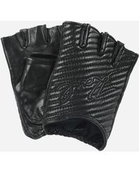 Karl Lagerfeld - K/quilted Gloves - Lyst
