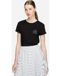 Karl Lagerfeld - Rue Lagerfeld Logo T-shirt - Lyst