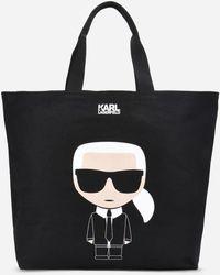 Karl Lagerfeld - K/ikonik Canvas Bag - Lyst