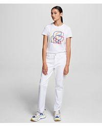Karl Lagerfeld Straight-leg Jeans - Multicolour