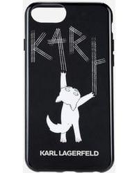 Karl Lagerfeld - Choupette Fun Tpu Case - Lyst