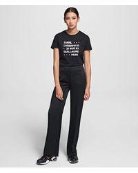 Karl Lagerfeld Kameo Logo Pants - Black