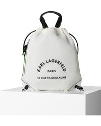 Karl Lagerfeld Tennis Ball Tank - White