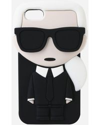 Karl Lagerfeld - K/ikonic Karl Iphone 8 Case - Lyst