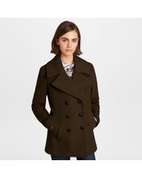 Karl Lagerfeld - Double-breasted Peacoat - Lyst