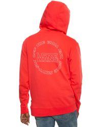 Vans Otw Framework Pullover Hoodie - Red