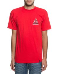 Huf The Spitfire Tee In Red
