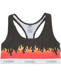 Chonies Brand - The New Flame Sports Bra - Lyst