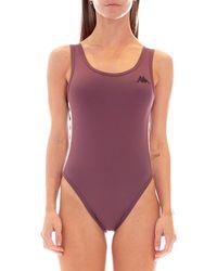 Kappa 222 Banda Auber Bodysuit - Purple