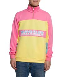 Pink Dolphin The Men's Wave Club Top V2 In Pink