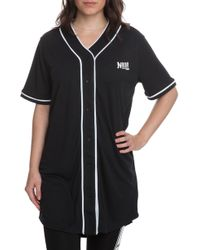 NANA JUDY The Serenade Baseball Jersey In Black