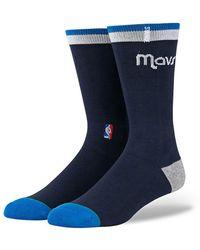 Stance Dallas Mavericks Knee-high Socks - Blue
