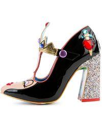 Irregular Choice Disney's Snow White X The Evil Queen Heels - Black
