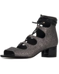 bb98ed98d9bf Jeffrey Campbell - For Women  Astute Multi Lace-up Heel Booties - Lyst