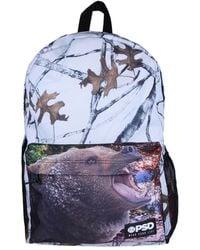 PSD Underwear Bear Camo Backpack - Blue