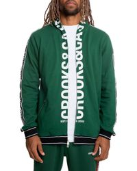 8bef6ea3d Lyst - Crooks and Castles The Chain C Pullover Hoody in Black for Men