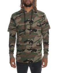 FBRK - The Ripped Pullover Hoodie - Lyst