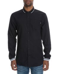 Fairplay Brand - The Nialle Woven Ls Polo Shirt - Lyst
