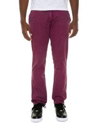 1d2e6742cbd7a8 Lyst - Axel Arigato Ringo Trousers Bordeaux in Purple for Men