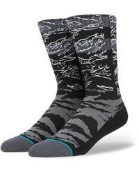 Stance Tiger Stripe Knee-high Socks - Black