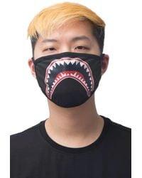 Hudson Jeans Shark Mouth Face Mask - Multicolor