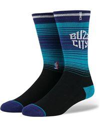 Stance Charlotte Hornets Knee-high Socks - Blue