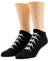 Kappa Authentic Assia Low Cut Ankle Sock - Black