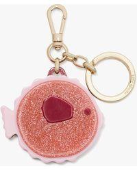 Kate Spade Schlüsselanhänger Kugelfisch - Pink