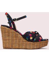 Kate Spade Anita Wedge Sandals - Multicolour