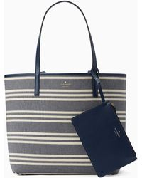 f82b24cebdea Lyst - Marc Jacobs Pike Place East west Leather Tote