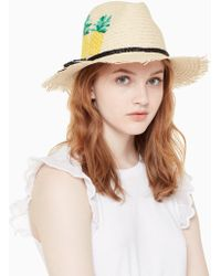 Kate Spade - Pineapple Trilby - Lyst