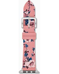 Kate Spade - Silicone Pink Floral Apple Watch® Strap - Lyst