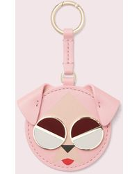 Kate Spade Spademals Mod Dog Dangle - Pink