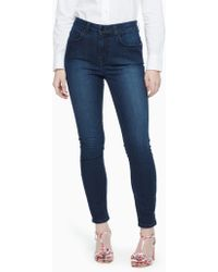 Kate Spade High Waisted Denim - Blue