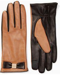 Kate Spade - Hardware Bow Tech Glove - Lyst