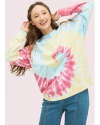 Kate Spade Batik-sweatshirt Mit Logo - Multicolor