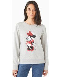 Kate Spade Disney X New York Posing Minnie Mouse Sweatshirt - Grey