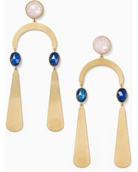 Kate Spade - Sunshine Stones Mobile Statement Earrings - Lyst