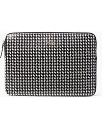Kate Spade Houndstooth Universal Laptop Sleeve