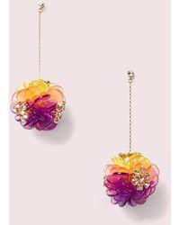 Kate Spade Blooming Bouquet Drop Earrings - Multicolour