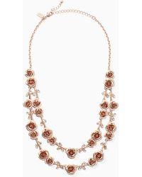 Kate Spade | Garden Garland Double Strand Necklace | Lyst