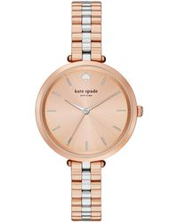 Kate Spade - Women's Holland Two-tone Stainless Steel Bracelet Watch 34mm 1yru0860 - Lyst