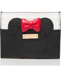 Kate Spade - For Minnie Mouse Minnie Card Case - Lyst